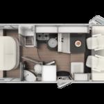INTEGRAL BLUCAMP OCEAN 725 2021 FIAT 140 CV 8