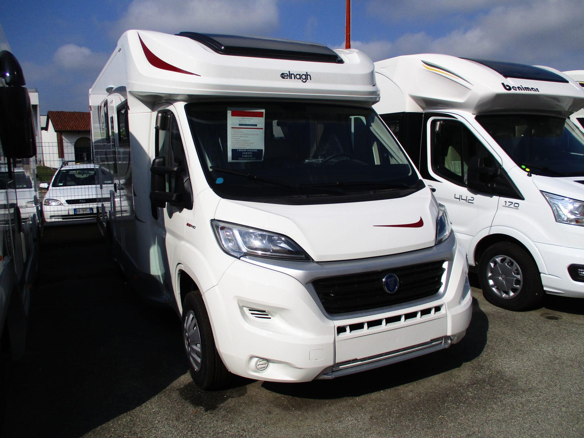 ELNAGHT BARON 560 2021 FIAT 140 CV